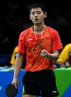 国际乒联官员最爱张继科 至今收藏被其踢碎的挡板